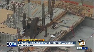 1 killed, 4 injured in construction accident