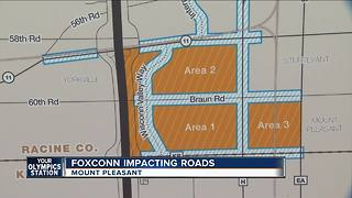Foxconn impacting roads - Video