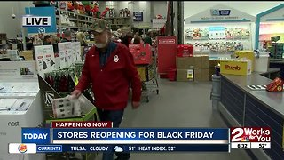Shoppers hit stores for Black Friday sales