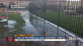 UPDATE: Henderson apartment without water for 2nd time in a week - Video