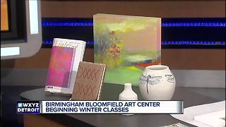 Winter Art Classes - Video