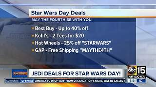 May 4: Deals for Star Wars day