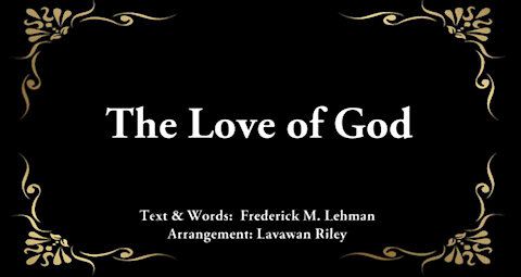 """""""The Love of God"""" - Piano Praise"""
