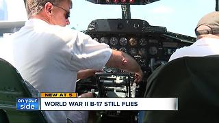World War II B-17 bomber comes to Cleveland offering flights to the public - Video