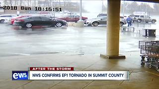 NWS confirms EF1 tornado in Summit County - Video