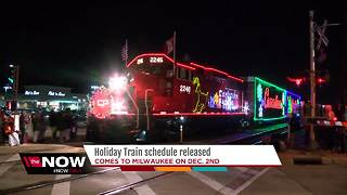 Canadian Pacific Holiday Train returning to Wisconsin - Video