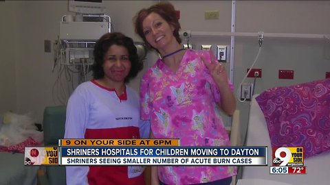 After 50 years in Cincinnati, Shriners Hospitals for Children will move to Dayton