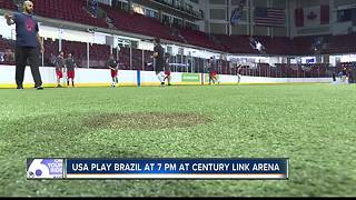 USA National Indoor Soccer comes to Boise - Video
