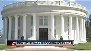 Jefferson Memorial replica created in Tarpon Springs - Video