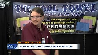 How to return a state fair purchase - Video