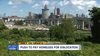 Ohio City Incorporated works to get Irishtown Bend's homeless population permanent housing - Video