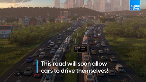 Michigan Road to install automous car lanes