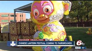 Chinese Lantern Festival coming to Indiana State Fairgrounds - Video