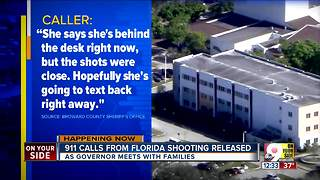 911 calls from Florida shooting released - Video