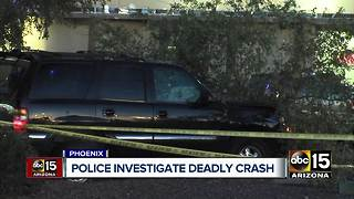 Police investigating deadly Phoenix accident - Video