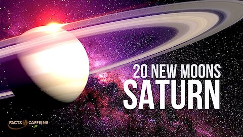 20 new moons around Saturn discovered by astronomers