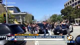 Federal agents search YouTube shooter family's home in Menifee - Video