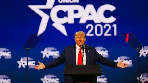 "CPAC 2021: President Donald Trump Full Speech - Entire Crowd Cheers ""We Love You"""