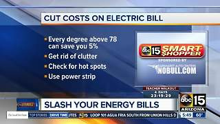 Tips to cut costs on your energy bill - Video