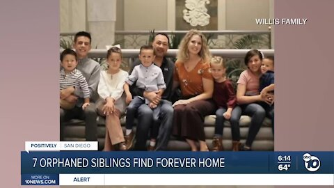 Empty nesters adopt seven Lakeside siblings orphaned in fatal crash