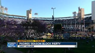 East Village set to host block party outside Petco Park