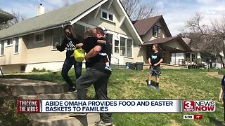 Abide Omaha provides food and Easter baskets to families