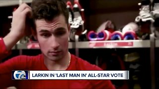 Dylan Larkin in 'Last Man In' All-Star Vote