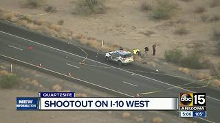 Man shot, killed by DPS near Quartzite - Video