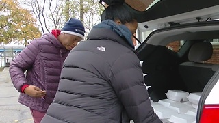 Local group goes out of their way to help the homeless - Video