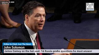 James Comey on the hot seat: 16 Russia probe questions he must answer