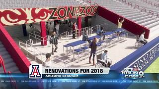 Arizona Athletics has five ongoing capital projects