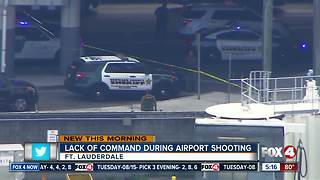 Report: Lack of command stymied response to airport shooting - Video