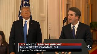 President Trump nominates Judge Brett Kavanaugh to Supreme Court, aiming for conservative shift - Video