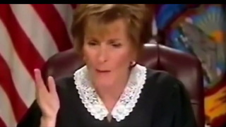 Liftable - Father Of 10 Makes Sex Joke In Front Of Judge Judy - Video