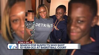 'He's still in a lot of pain,' Detroit mother says son is recovering after being shot in the ankle