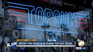 'Top Gun' sequel starts production in San Diego