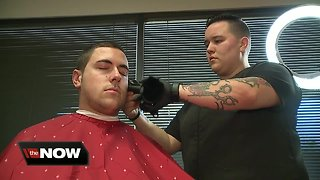 Local barber offers free haircuts for gov. workers