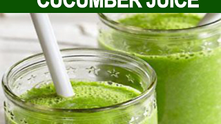 8 reasons why you should drink cucumber juice - Video