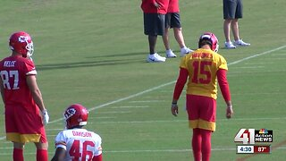 Kansas City Chiefs getting ready for first preseason game