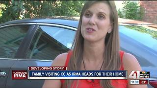 FL woman traveling in metro worries about home ahead of Irma - Video