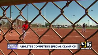 Athletes compete in Special Olympics Arizona