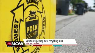 Polk County residents getting new recycle bins