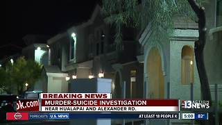 Police investigating murder-suicide in northwest Las Vegas - Video