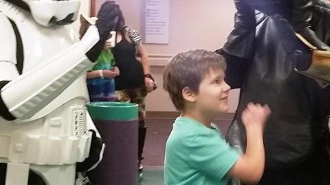 Star Wars Fan Gets Surprise After Completing Chemo