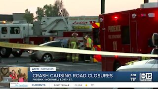 Serious crash near 34th Street and McDowell Road