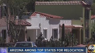 Jobs, climate, more make Arizona hot for out-of-state movers - Video