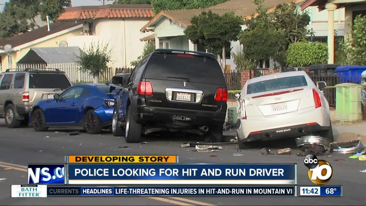 Police search for hit and run driver