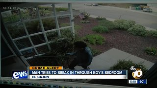 El Cajon family on edge after man tries to break-in through toddler's bedroom - Video