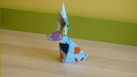🐇 How to Fold the Origami Easter Bunny