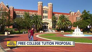 Proposed bill offers free college tuition in Florida... but there's a catch